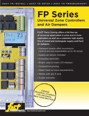 Universal Zone Controllers & Air Dampers